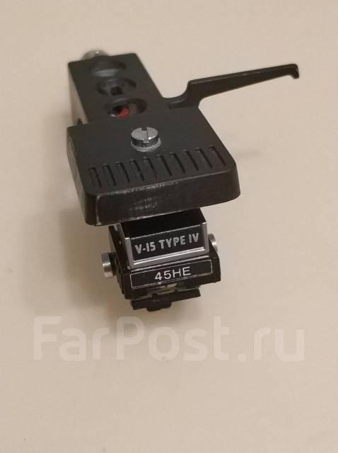 Головка звукоснимателя Shure V15 type IV + jico 45HE +