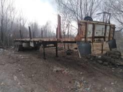 Нефаз 9334-10. Полуприцеп бортовой Нефаз 933410 в Хабаровске., 23 000кг.