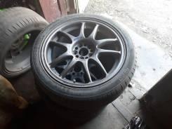Литые диски Work Emotion CR-KAI с шинами Pirelli 215/45R17