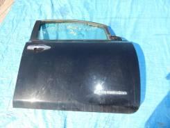 Дверь передняя правая на Nissan LEAF(2) Aze0 есть вмятина