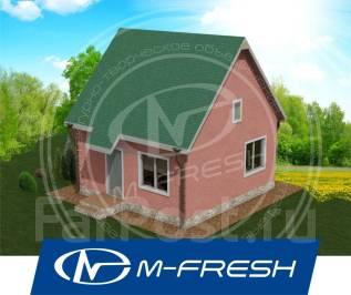 M-fresh Main room (Проект дома подойдёт для поселения на природе). до 100 кв. м., 1 этаж, 1 комната, каркас