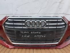 Решетка радиатора. Audi A4, 8W2, 8W5, 8WH Audi S4, 8W2, 8W5, 8WH CGWD, CRTC, CRTE, CSWB, CVKB, CVLA, CVNA, CWGD, CYMC, CYRB, CYRC, CZHA, DBPA, DCPC, D...