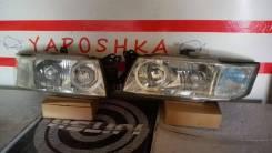 Фара. Mitsubishi Chariot, N84W Mitsubishi Chariot Grandis, N84W