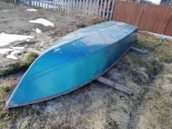 Сибирячка. 1982 год, длина 4,20м., двигатель без двигателя, 8,00л.с., бензин