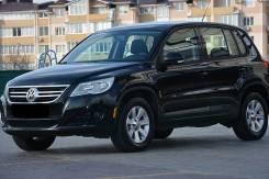 Volkswagen Tiguan. ПТС 2010 2л Бензин 4WD черный