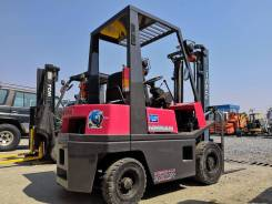 Nissan. Вилочный погрузчик бензиновый NH01 1500 кг грузоподъемность, 1 500кг., Бензиновый