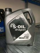 S-Oil Seven Dragon. Редукторное, синтетическое, 80W-90, 4,00л.