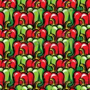 Паприка красная, зеленая, кусочки