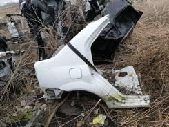 Крыло заднее правое четверть Renault logan