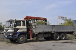 Mitsubishi Fuso. Продаётся бортовой грузовик с манипулятором Мицубиси ФУСО в Иркутске, 7 500куб. см., 10 000кг., 6x2
