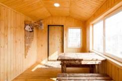 Баня готовая с комнатой отдыха и душевой