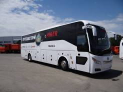 Higer KLQ6128K. Higer KLQ 6128LQ, 55 мест, ровный пол, Туристический автобус, 55 мест, В кредит, лизинг