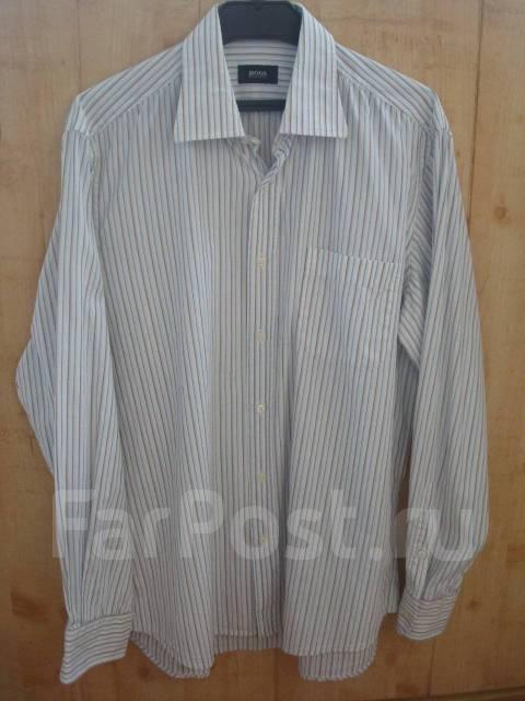 04c4d7a400b096f Мужская рубашка Hugo Boss, ворот 41, р.52,100% хлоп., Турция для ...