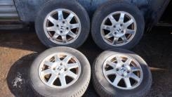 "Диски Honda R15 + лето Pirelli Cinturato P1 195/65R15. 6.0x15"" 4x114.30 ET55 ЦО 65,0мм."