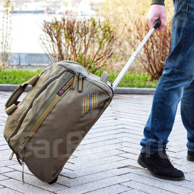 dd2becf1e094 Дорожная сумка на колесах Volunteer - Аксессуары и бижутерия во ...