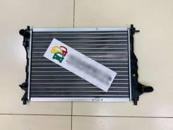 Радиатор охлаждения двигателя. Daewoo Matiz, KLYA B10S1, F8CV