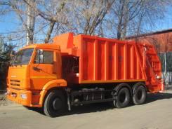 Коммаш КО-427-03. Продажа мусоровоза КО-427-03 на базе Камаз-65115, 11 700куб. см.