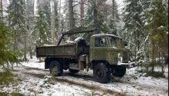 ГАЗ 66. Продам газ 66-манипулятор, 120куб. см., 4x4