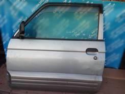 Дверь левая на Mitsubishi Pajero MINI 1998г. в. H56A