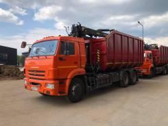 Продажа ломовоза с КМУ VM10L74М на шасси Камаз-65115-3094. 1 970куб. см.