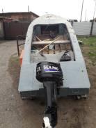 МКМ. 2012 год год, длина 5,00м., двигатель подвесной, 15,00л.с., бензин