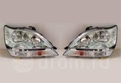 Фары (оптика) Lexus RX300 / Toyota Harrier 1998-2002 (светлые)