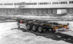 Orthaus. CGS010 контейнеровоз 45 футов раздвижной ССУ 1100 мм, 38 500кг.