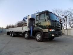 Nissan Diesel. 2005г с гидроманипулятором Tadano Cargo Crane ZR 504, 13 074куб. см., 12 000кг., 8x4