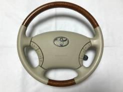 Руль. Toyota: Alphard Hybrid, Camry, Estima Hybrid, Land Cruiser Prado, Highlander, 4Runner, Brevis, Avensis Verso, Alphard, Estima, GX470, Hilux, Hil...