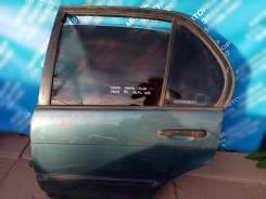 Дверь задняя левая на Toyota Corsa 1993г. в. EL40, 5E FE
