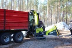 Рубильная машина Junkkari HJ 170 на трактор МТЗ