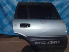 Дверь задняя правая на Toyota Sprinter Carib 1991г. в. AE95, 4A