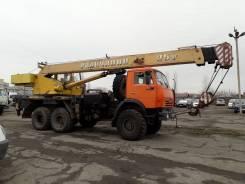 Галичанин. Автокран на базе Камаз 25 тонн. 21,7 м.