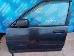 Дверь передняя левая на Toyota Corsa 1992г. в. EL41, 5E FE