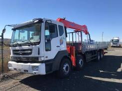 Daewoo Novus. 19 тонн c КМУ Kanglim 2605 (10т)/ 2018г/ Новый, 10 964куб. см., 19 500кг., 8x4
