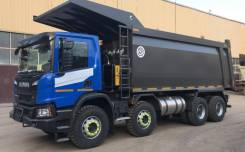 Scania P440. Углевоз B8X4HZ, 13 000куб. см., 32 000кг., 8x4