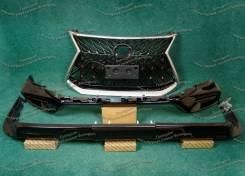 Обвес Lexus LX570/Лексус/TRD Superior с 16г. мат. хром, полный, чер. перл