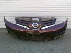 Бампер передний с решёткой Nissan Note 2010г 2модель