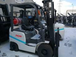 TCM FHG15T3. Вилочный погрузчик г/п 1500 кг Япония, 1 500кг., Бензиновый
