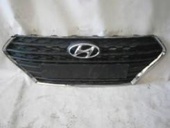 Решетка радиатора. Hyundai Solaris, HCR Двигатели: G4FC, G4LC