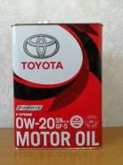 Toyota. 0W-20, синтетическое, 4,00л.