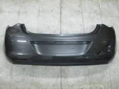 Бампер задний Opel Astra J 13266587 Опель Астра Джей дорестайлинг хетч