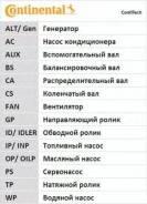 Ремень газораспределения CONTITECH CONTITECH CT921