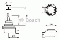 Лампа h11 12v 55w pure light BOSCH 1987302084