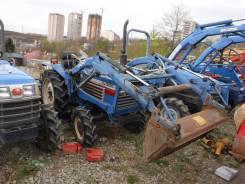 Iseki. Трактор 19 лс, 4wd, фреза, вом, погрузчик, 19 л.с.