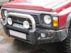 Передний силовой бампер Powerful Nissan Safari / Patrol Y60