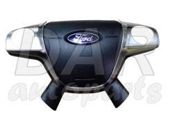 Крышка airbag на руль FORD Focus 3 Мульти-руль 2010-2014. Ford Focus, CB8 Ford Kuga, CBS Ford C-MAX, CB7