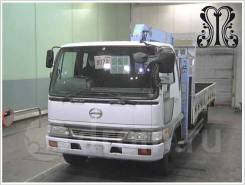 Hino Ranger. Бортовой с манипулятором 5 тонн, 8 000куб. см., 5 000кг., 4x2