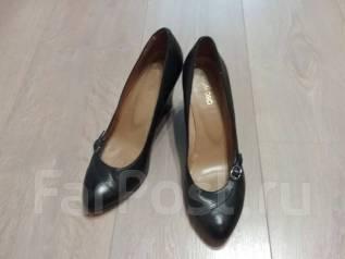 ab2ad4eaf Бежевые кожаные туфли Эконика Бразилия 38 размер - Обувь во Владивостоке