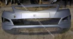 Бампер передний в цвет Hyundai Solaris рестайлинг